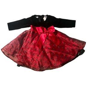 5/$25 Blueberi Boulevard Girl's Holiday Dress